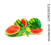 fresh  nutritious and tasty... | Shutterstock .eps vector #1190159371