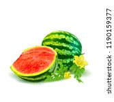 fresh  nutritious and tasty... | Shutterstock .eps vector #1190159377