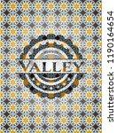 valley arabesque style badge.... | Shutterstock .eps vector #1190164654