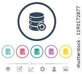 undo database changes flat...   Shutterstock .eps vector #1190172877