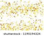festive glitter rectangle... | Shutterstock .eps vector #1190194324