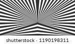 abstract halftone stripes... | Shutterstock .eps vector #1190198311