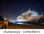 Large Ship   Big Modern Cruise...