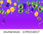 festival celebrated brazilian... | Shutterstock .eps vector #1190216017