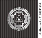 illuminati pyramid icon inside... | Shutterstock .eps vector #1190236564