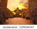 wat ratchaburana ayuthaya world ... | Shutterstock . vector #1190246767