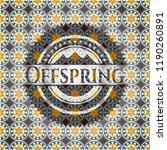 offspring arabic badge... | Shutterstock .eps vector #1190260891