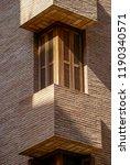 window of one of the elegant... | Shutterstock . vector #1190340571
