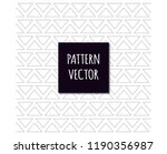 background of triangles in... | Shutterstock .eps vector #1190356987
