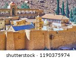 the fortress of st catherine... | Shutterstock . vector #1190375974