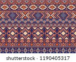boho pattern tribal ethnic...   Shutterstock .eps vector #1190405317