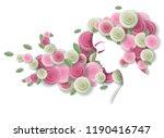 portrait of beautiful young... | Shutterstock . vector #1190416747