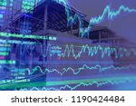 economic growth of real estate... | Shutterstock . vector #1190424484