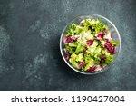 healthy vegetable salad of... | Shutterstock . vector #1190427004