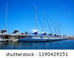 melia marina harbour. varadero  ... | Shutterstock . vector #1190429251