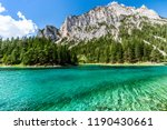 Green Lake in Styria, Austria