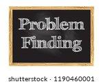 problem finding blackboard... | Shutterstock .eps vector #1190460001