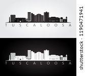 tuscaloosa  usa skyline and...   Shutterstock .eps vector #1190471941