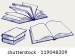 vector illustration of books... | Shutterstock .eps vector #119048209