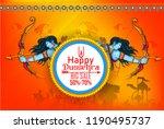 innovative banner poster for... | Shutterstock .eps vector #1190495737