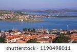 beautiful panoramic view of the ... | Shutterstock . vector #1190498011