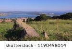 beautiful panoramic view of the ... | Shutterstock . vector #1190498014
