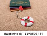 little books attached to a life ... | Shutterstock . vector #1190508454