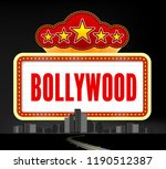 bollywood is a traditional... | Shutterstock .eps vector #1190512387