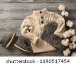 fashion children's clothing ... | Shutterstock . vector #1190517454