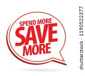 sale and special offer tag ... | Shutterstock .eps vector #1190522377