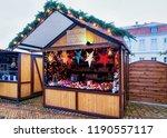 berlin  germany   december 9 ... | Shutterstock . vector #1190557117