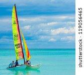 varadero cuba november 3 young... | Shutterstock . vector #119056465