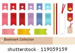 bookmark collection | Shutterstock .eps vector #119059159
