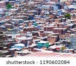 favela slum brazil   Shutterstock . vector #1190602084