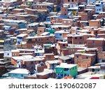 favela slum brazil   Shutterstock . vector #1190602087