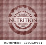 nutrition red seamless... | Shutterstock .eps vector #1190629981