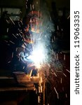 welding | Shutterstock . vector #119063335