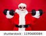 portrait of nice optimistic... | Shutterstock . vector #1190680084