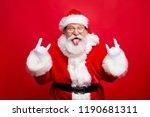 ho ho ho  party time concept.... | Shutterstock . vector #1190681311