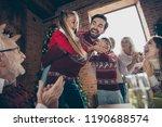 low below angle view of noel... | Shutterstock . vector #1190688574