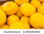 fresh and juicy citrus fruits... | Shutterstock . vector #1190692801