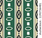 vertical tribal stripe  ... | Shutterstock .eps vector #1190736481