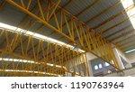 roof steel structure | Shutterstock . vector #1190763964