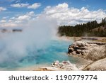Water Evaporates From A Hot...