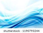 design trendy element. blue...   Shutterstock . vector #1190793244