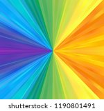 abstract colorful watercolor...   Shutterstock . vector #1190801491
