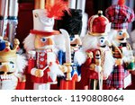 nutcrackers on christmas market ... | Shutterstock . vector #1190808064