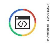 inspect   app icon | Shutterstock .eps vector #1190816524
