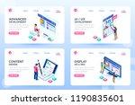 develop  web development ... | Shutterstock . vector #1190835601