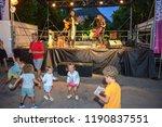 lugano  switzerland   16 july... | Shutterstock . vector #1190837551